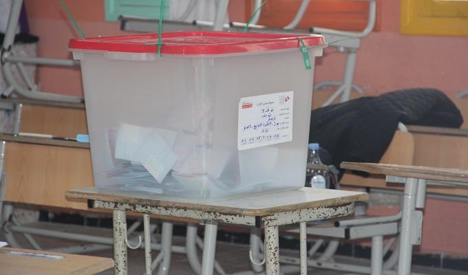 عمليات نقل وتوزيع صناديق الإقتراع