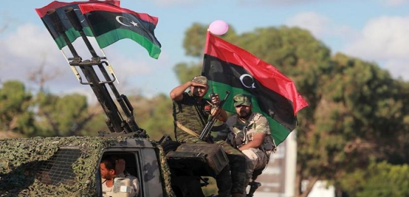 إطلاق النار في ليبيا